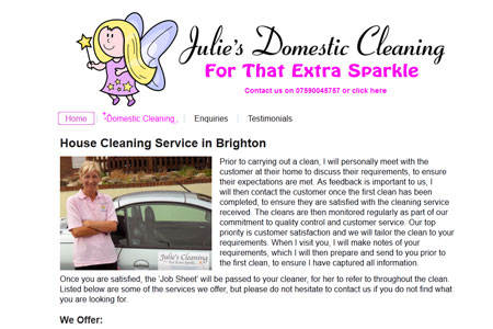 Julie's Domestic Cleaning