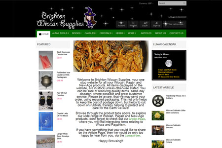 Brighton Wiccan Supplies