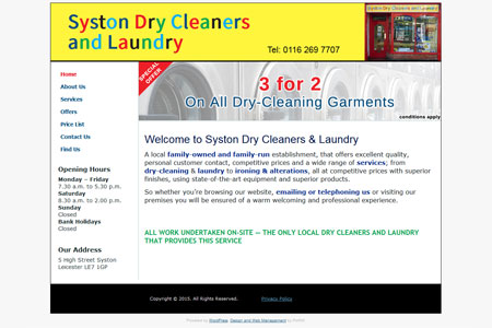 Syston Dry Cleaners